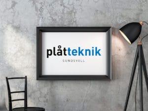 Plåtteknik Logotyp