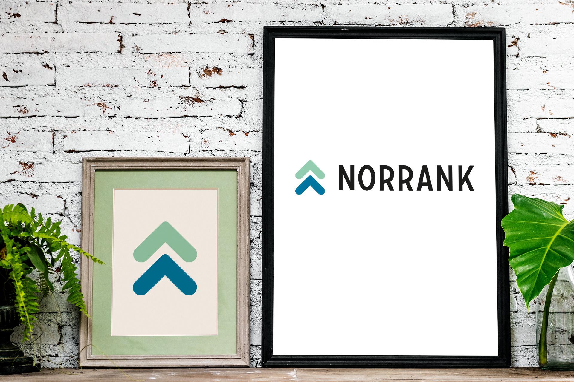 norrank logotyp symboler
