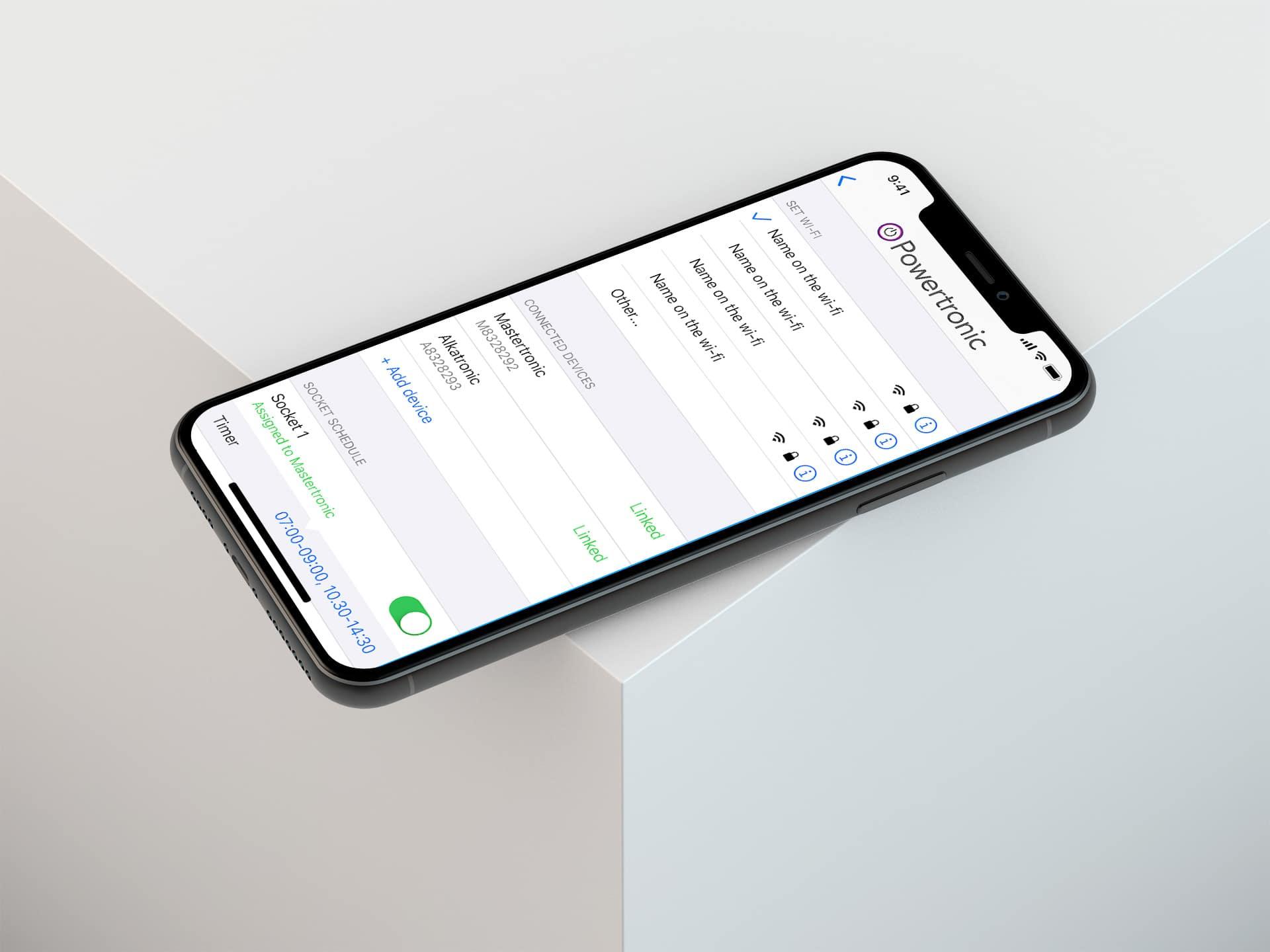 powertronic appdesign app